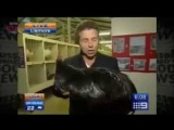 Channel 9 News Bird attack at Lismore