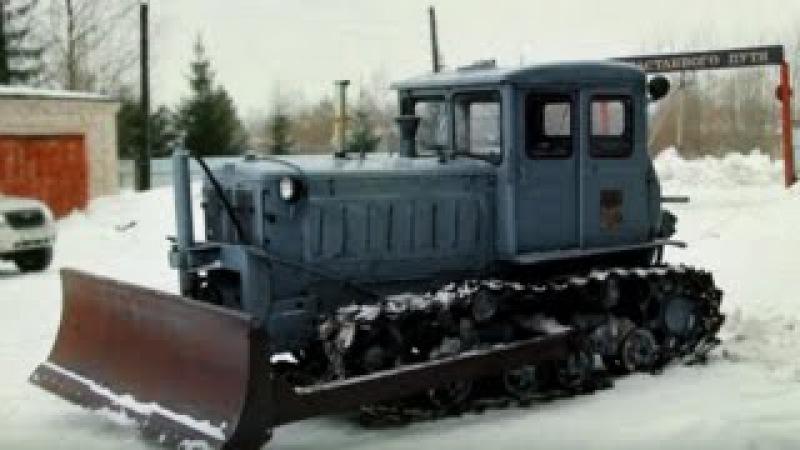 Трактор Т 74 фильм Обзор Ретро Тест драйв История создания Pro Автомобили СССР