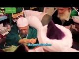 Шейх Назим передает суфистам Дагестана баракат через трость