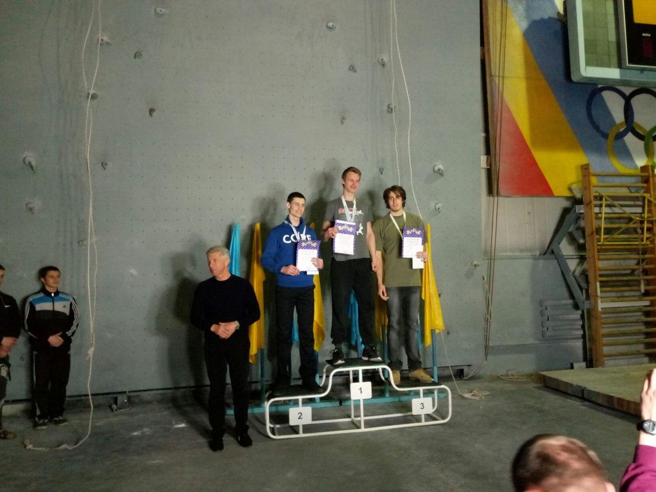 Победители кременчуг универсиада скалолазание 2017