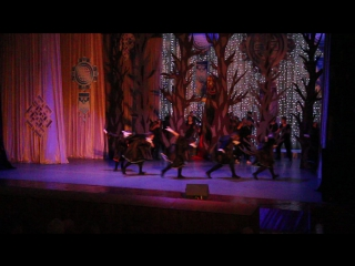 Танец темных сил на Сагаалгане 2017