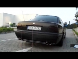 BMW 750 E38 5.4 v12 Magnaflow Exhaust Sound