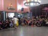 PABLO INZA y SOFIA SABORIDO en Viva La Pepa! Milonga en 19 de marzo de 2017 Bailan milonga