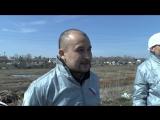Мурад Шафиков - коррдинатор проекта ОНФ Генеральная уборка в РБ. Дмитриевка