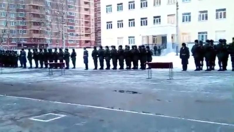 Присяга 29.12.2016 в/ч 3421 (60-й учебный полк), 5 учебная рота