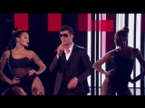 Robin Thicke - _Blurred Lines_ Live The X Factor Uk 2013 Week 2 Results HD