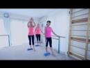 Sandra Hanna - One Hour Workout Intermediate (Number 2) | Калланетика