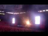 Отрывок начала выступления Rammstein!!!