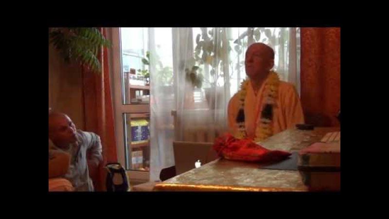 BVV Narasimha Swami, SB Class 1.7.36, Blagoveshchensk 02.09.2016 (Eng-Rus)