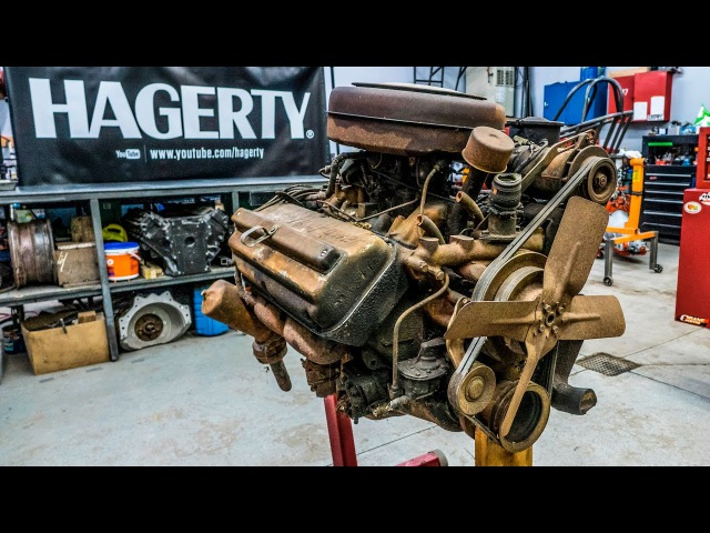 Chrysler Hemi FirePower Engine Rebuild Time Lapse | Redline Rebuild 3