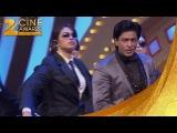 Zee Cine Awards 2012 - Шах Рукх и Приянка. Пародия на фильм Телохранитель