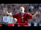 Paul Scholes' England hat-trick  From The Archive