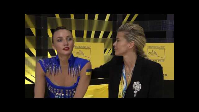 Ganna Rizatdinova Hoop AA - Grand Prix Kiev 2017