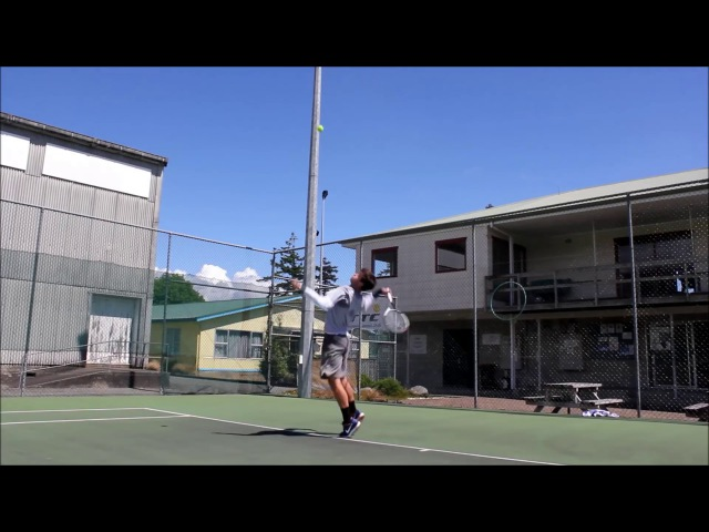 Alex hunt - give a little promotional video - Tennis