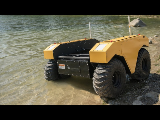 Warthog UGV Outdoor Research Robot