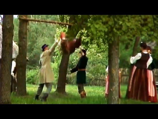 Žemaitiška Velykų liaudies daina Bernelis supava (Samogitian folk song)