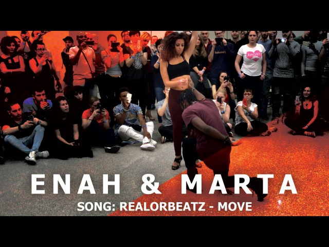 Enah Marta Urban Kiz Dance @ KIZMI 2016 RealOrBeatz Move