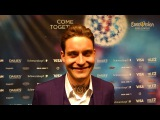 Interview with Douwe Bob (The Netherlands 2016) @ Eurovision in Stockholm