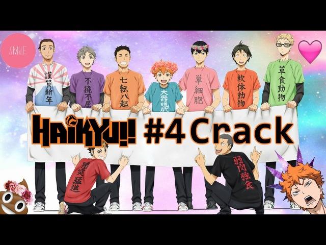 Волейбол - Приколы! Часть 4! Haikyuu - Crack! 4 (Рашен Кряк)