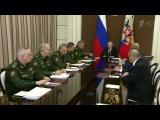 Владимир Путин подвел итоги совещаний сруководством Минобороны ипредприятий...