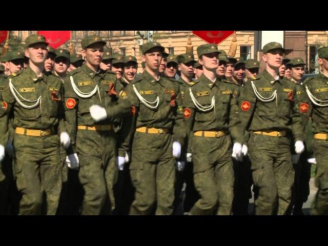 Парад Факультета Военного Обучения ЮУрГУ