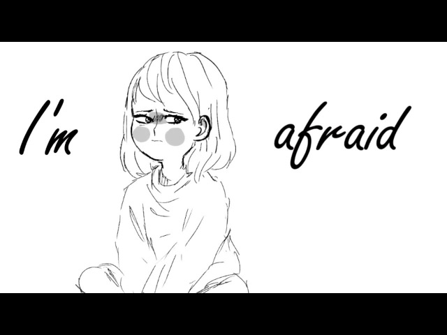 [I'm afraid] - undertale meme