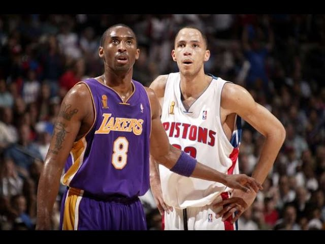 Detroit Pistons vs Los Angeles Lakers final 2004 game 5 (на русс)