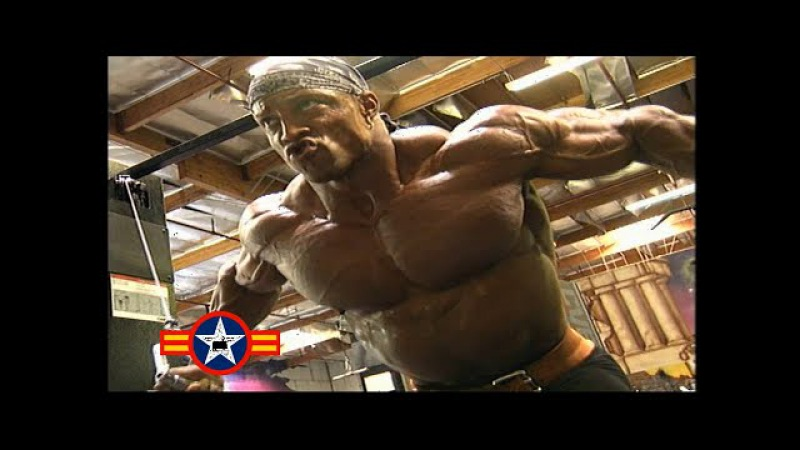 Shawn Ray - Chest Workout For 1999 Mr.Olympia