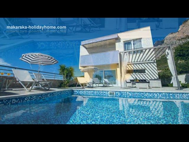 FERIENHAUS MAKARSKA Villa mit Pool GREAT HILL ★★★★ Makarska Holiday Home Kroatien