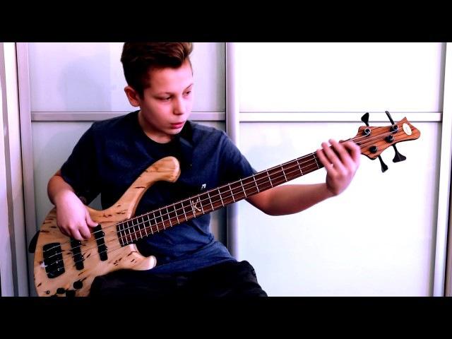 Masz przewrócone w głowie - Zaucha/Badach bass cover