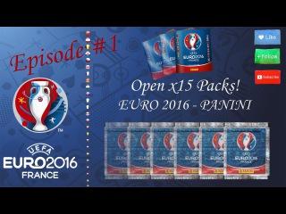UEFA Euro 2016 Panini Stickers! Open BOX and Packs [Панини - Евро 2016, открытие бокса и пакетиков]