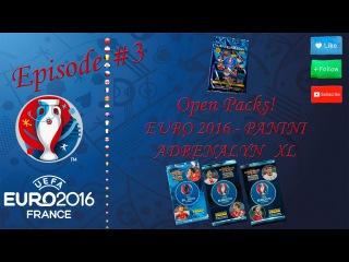 Adrenalyn XL - Euro 2016 - Open BOX#2 and Packs [RUS - Панини - Евро 2016 Адреналин]