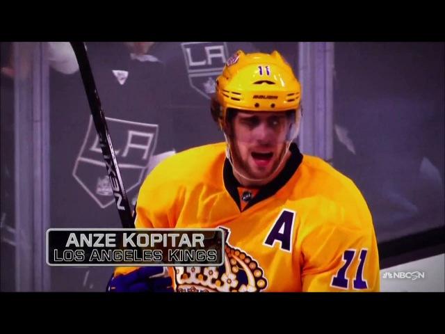 Anze Kopitar Wins the 2016 Selke Trophy
