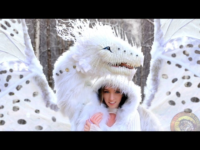 Life Sized Winter Dragon! No Robotics, Woodsplitter Lee Cross