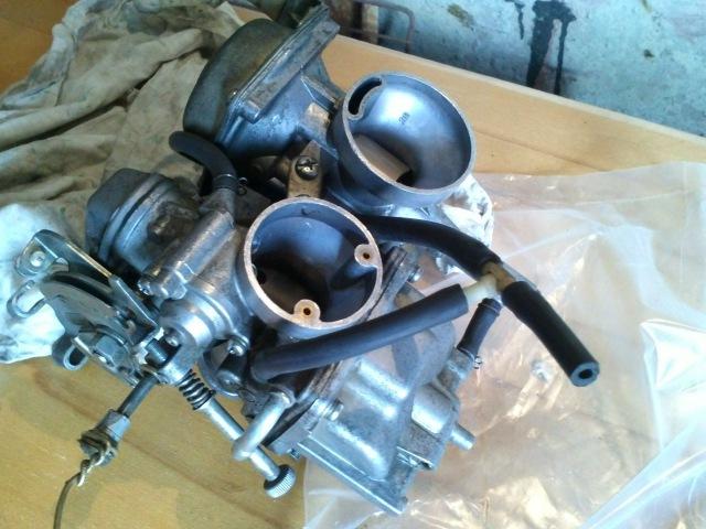 регулировка карбюратора мотоцикла Yamaha SRX, XT
