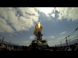ВИДЕО МИНОБОРОНЫ РФ: Корабли Черноморского флота совершили три пуска ракет по террористам в Сирии