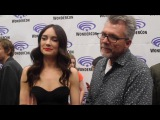 WonderCon 2017 Mallory Jansen and Jeffrey Bell talk AGENTS OF S.H.I.E.L.D., LMDs, and ANGEL
