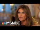 Melania Trump On Her Life, Marriage And 2016   Morning Joe   MSNBC