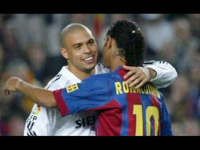 Real Madrid vs FC Barcelona 4-2 - La Liga 20042005 - All Goals Full Highlights