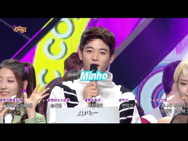 141122 圭賢 Kyuhyun 규현 - At Gwanghwamun 3RD WIN (ft MINHO singing) 1080P