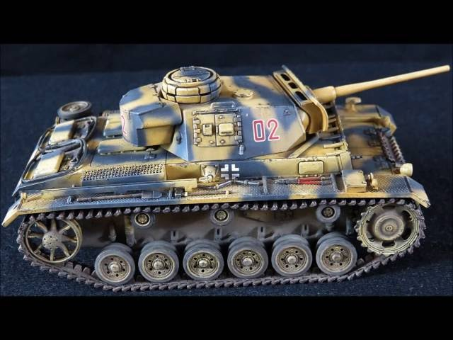 Tamiya 148 Panzer III Ausf L [complete build-part 2]