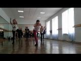 сучасний танець - гран батман