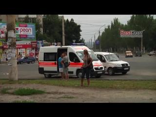 Луганск.18 июля,2014.Кафе