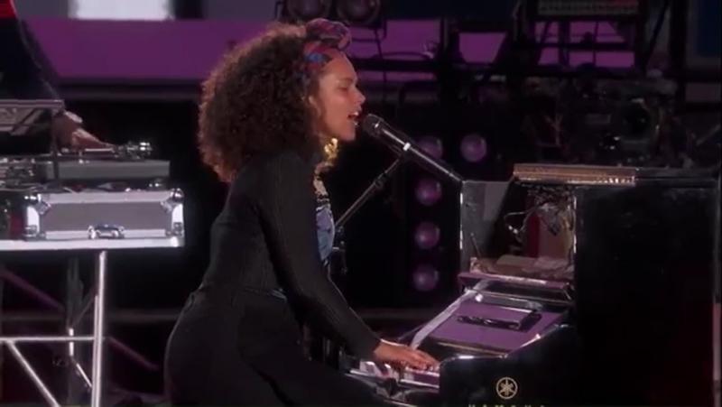 Alicia Keys John Mayer — If I Ain't Got You / Gravity (LIve at