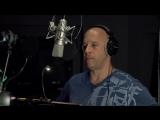 Брэдли Купер (Ракета) и Вин Дизель (Грут) записывают реплики для «Стражей Галактики 2»