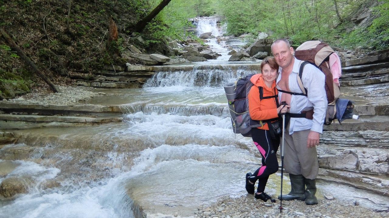 """Поход для тех, у кого потеют ноги!  Отчет о походе по """"долине 40-ка водопадов"""" Автор - Бугара Роман, инструктор группы."""