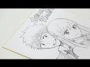 Мангака Ёшикава Мики (автор Ямада-кун и семь Ведьм) рисует Ямаду и Урару