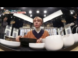 170107 Jin, J-Hope @ Baek Jongwon's Three Great Kings Ep.67