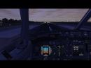 Руление и взлет из Пулково с полосы 10L на Боинге 737-800