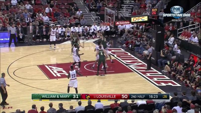 William Mary vs Louisville Cardinals - Full Game - November 14,2016